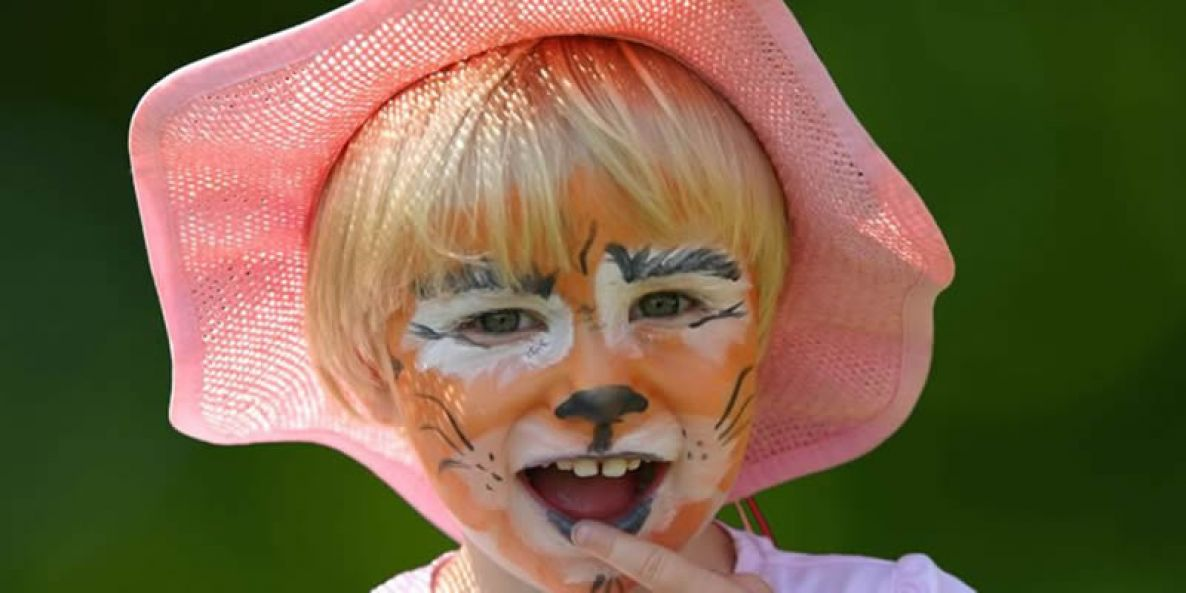 Kinderschminken - Motiv Tiger - Funtasiewelt Kinder-Events