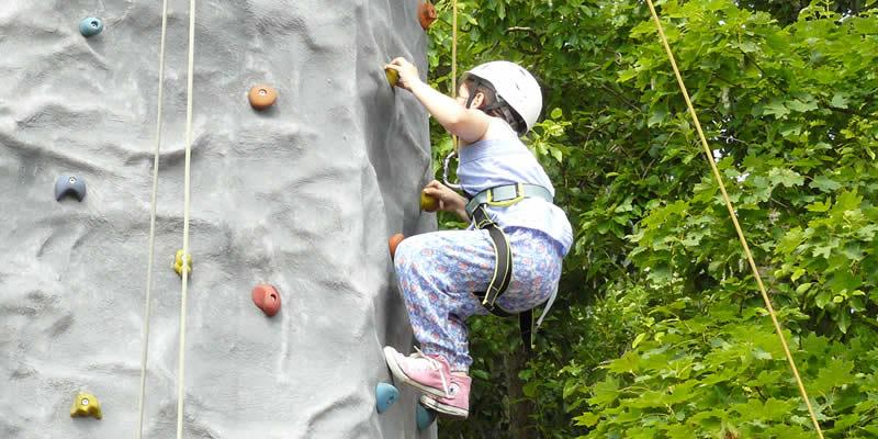 Kletterwand sorgt für Spaß | Kinder